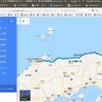 11月の、福岡〜横浜踏破にむけて 鳥取〜舞鶴の海岸沿いルート
