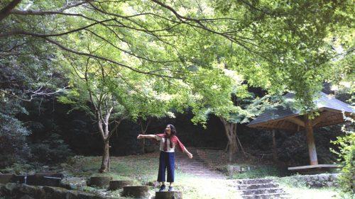 筑紫耶馬渓の南畑公園