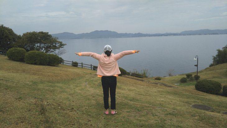 「宍道湖ふれあいパーク」 福岡〜横浜・東京ドライブでの訪問スポット@山陰